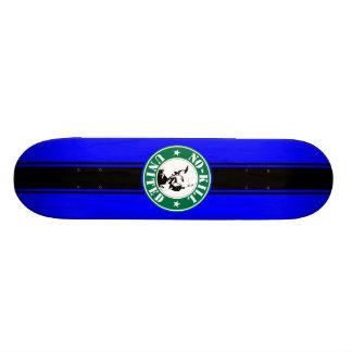 NO-KILL UNITED : LOGOSKT3065-3BB 21.6 CM SKATEBOARD DECK
