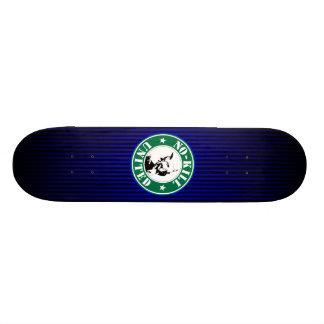 NO-KILL UNITED : LOGOSKT3065-STRPFD-BB CUSTOM SKATE BOARD