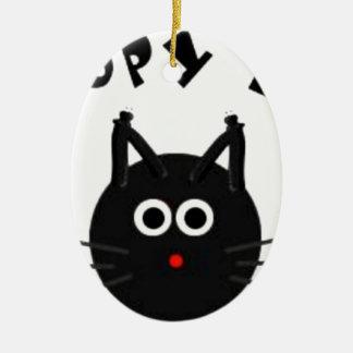 No Kopy Katz Christmas Ornament