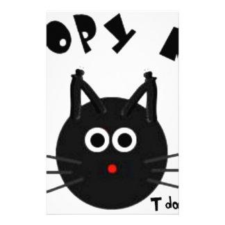 No Kopy Katz Stationery
