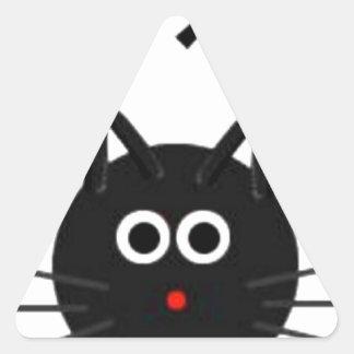 No Kopy Katz Triangle Sticker