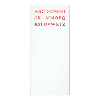 "No L ""Joke"" Alphabet (Noel) Card"