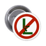 No - L Noel Christmas Button