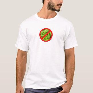 NO lettuce symbol t-shirt