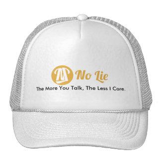 No Lie Trucker Hat