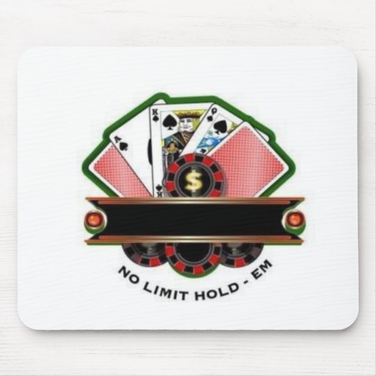 No Limit Hold'em Mouse Mat