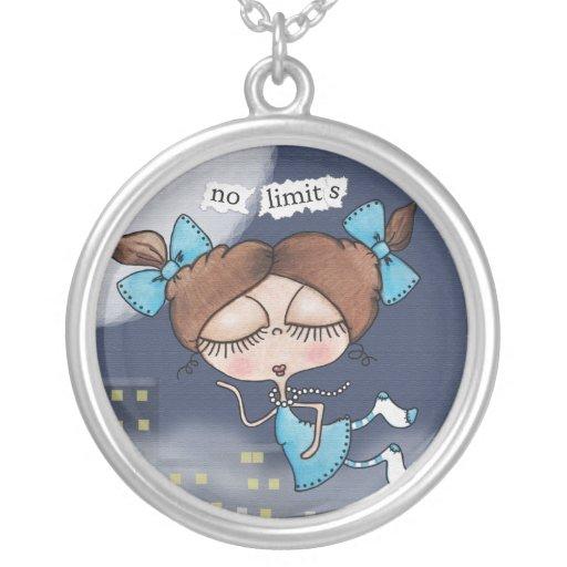 No Limits-City Girl Pendant