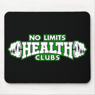 No Limits Health Clubs Mouse Pad