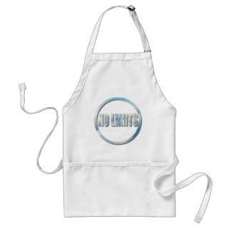 No Limits, The Sky Is The Limit Circle Quote Standard Apron