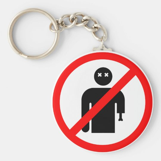 No Locals Keychain (Clean)