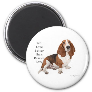 No Love Better than Rescue Love Magnet