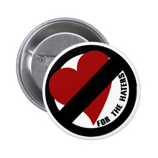 No Love for Player Haters Pinback Buttons