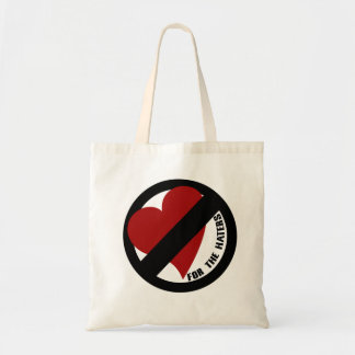 No Love for Player Haters Canvas Bag