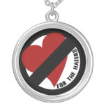 No Love for Player Haters Personalized Necklace