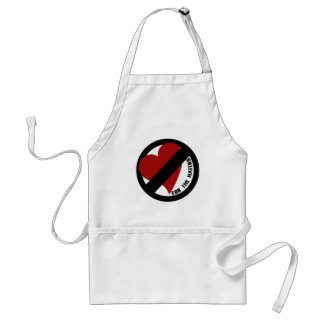 No Love for Player Haters Standard Apron