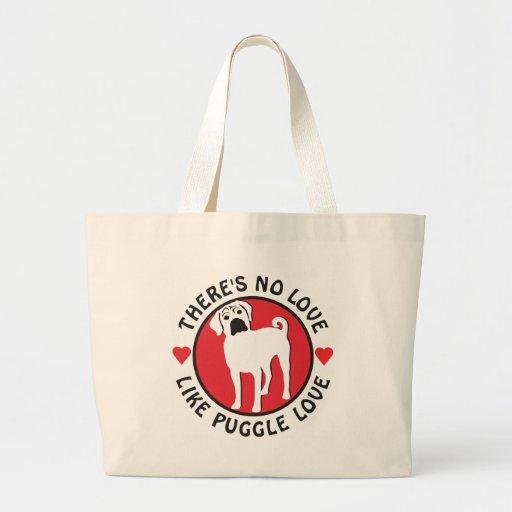 No Love Like Puggle Love Bag
