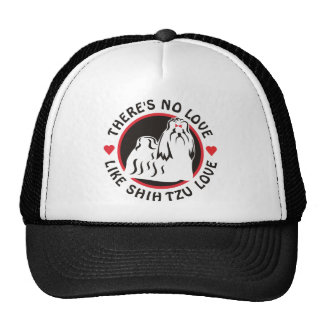 No Love Like Shih Tzu Love Cap