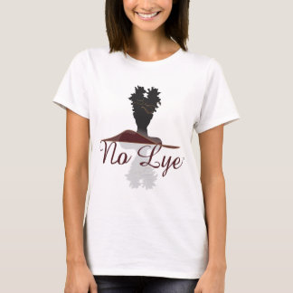 No Lye Natural Hair Washington, DC T-Shirt