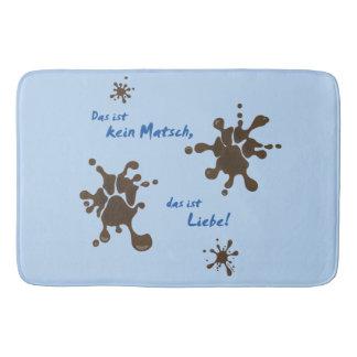 No Matsch - love Bath Mat