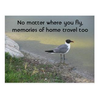 "No Matter Where You Fly – 4.25"" x 5.6"" Postcard"