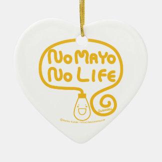 No Mayo No Life Christmas Ornament