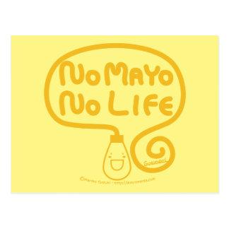 No Mayo No Life Postcard