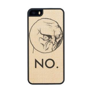 """""""No."""" meme Funny iPhone 6 Plus Case"""
