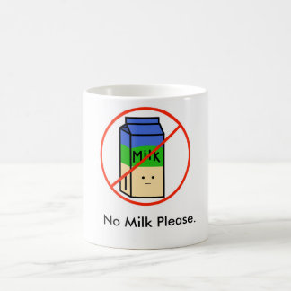 No Milk Please Mug White Version