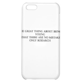 no mistakes iPhone 5C covers