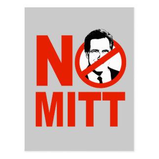 No Mitt Postcard