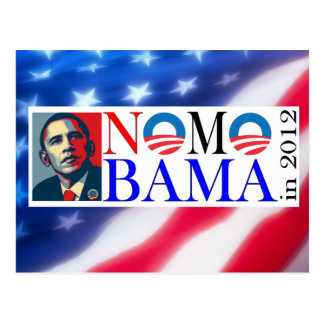 No Mo Bama in 2012 Postcard