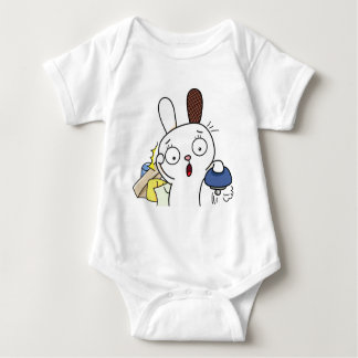 No money Bunny! Baby Bodysuit