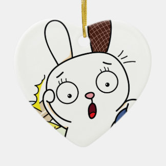 No money Bunny! Christmas Ornament