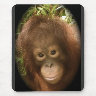 No Monkey Business Mouse Mat