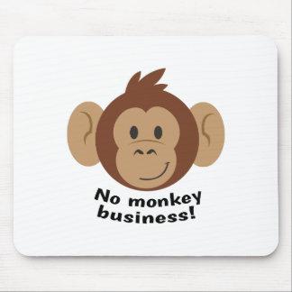 No Monkey Business Mousepad