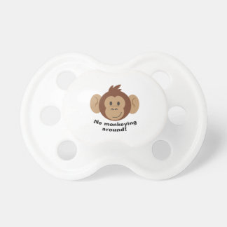 No Monkeying Around BooginHead Pacifier