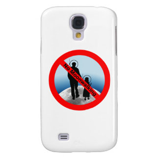 No Moon Walking Galaxy S4 Case