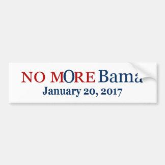 No mOre Bama January 17, 2017 Bumper Sticker