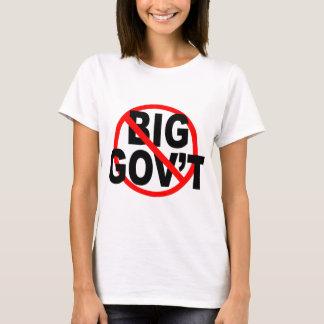 No More Big Government shirts
