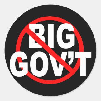 No More Big Government stickers