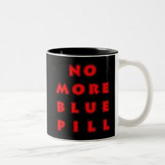 No More Blue Pill Two-Tone Mug