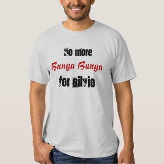 no more bunga bunga for Silvio T-shirt