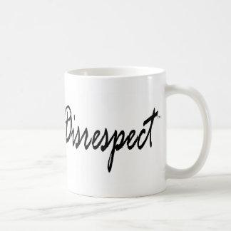 No More Disrespect Graphic2 Basic White Mug