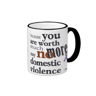 No More Domestic Violence Coffee Mug