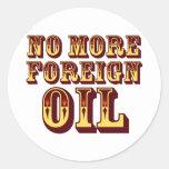 No More Foreign Oil Sticker