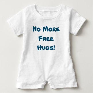 No More Free Hugs  - Boy Baby Romper Baby Bodysuit