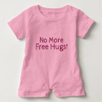 No More Free Hugs! - Girl's Baby Romper Baby Bodysuit