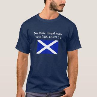 No More Illegal Wars Scottish Independence -Shirt T-Shirt