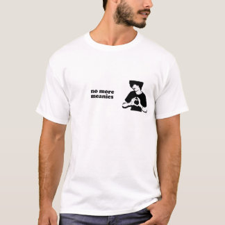 No More Meanies Aiden Black & White Logo T-Shirt