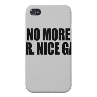 NO MORE MR NICE GAY iPhone 4/4S CASES